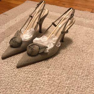 Prada sling shot shoes
